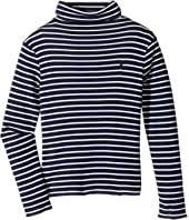 Polo Ralph Lauren Kids - Striped Turtleneck Shirt (Little Kids)