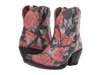 Ariat Circuit Cruz (Vintage Rose Print) Cowboy Boots