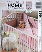 McCall's 3991 - Nursery Accessories - Home Decorating Sewing Pattern