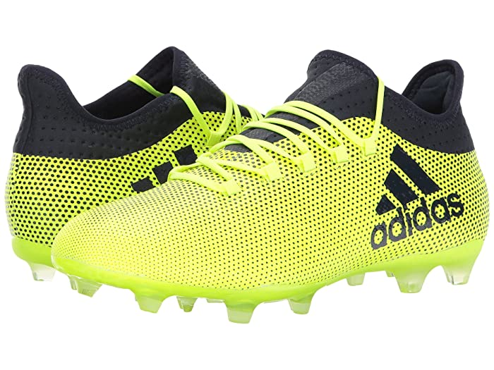 adidas  X 17.2 FG (Solar YellowithLegend Ink) Mens Soccer Shoes