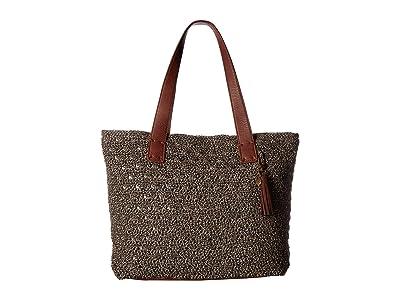 The Sak Fairmont Crochet Large Tote (Metallic Multi) Tote Handbags