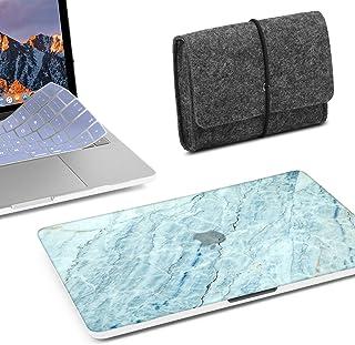 3 in 1 MacBook Latest Pro Touch Bar 15 Inch A1990/A1707 (2016,2017,2018 Release) Bundle, GMYLE Hard Matte Case, Felt Stora...