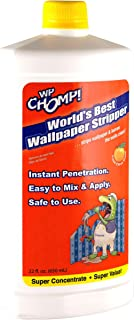 WP Chomp World's Best Wallpaper Stripper: and Sticky Paste Remover, Citrus Scent 22oz Super Concentrate