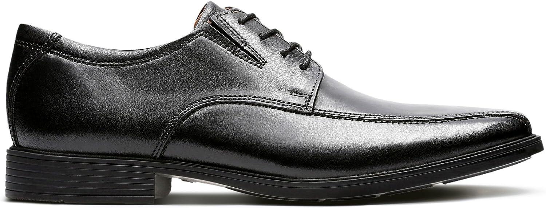 Clarks Tilden Walk Leather shoes in Black