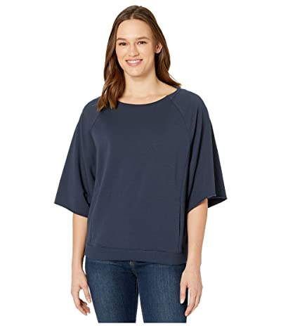 manduka Resolution Raglan Pullover (Nocturnal) Women