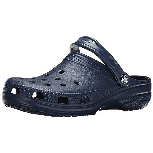 5c98a5e07675f8 Crocs Men s and Women s Classic Clog Comfort Slip On Casual Water Shoe  Lightweight