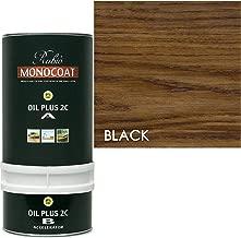 Rubio Monocoat Zero VOC 2 Component Oil Finish, 350ML Color: Black