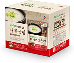 bibigo Korean Beef Bone Broth Soup, Ready-to-Eat, 17.7 Ounce (6-Pack)