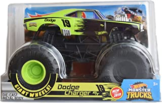 Hot Wheels 1970 Dodge Charger R/T #2 Monster Truck, 1:24 Scale