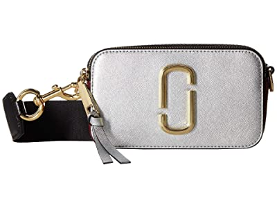 Marc Jacobs Snapshot (Silver Multi) Handbags
