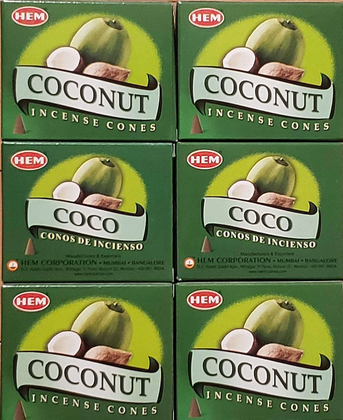 リースポテトに勝るお香 コーン ココナッツ6箱入り 500円以上で送料無料