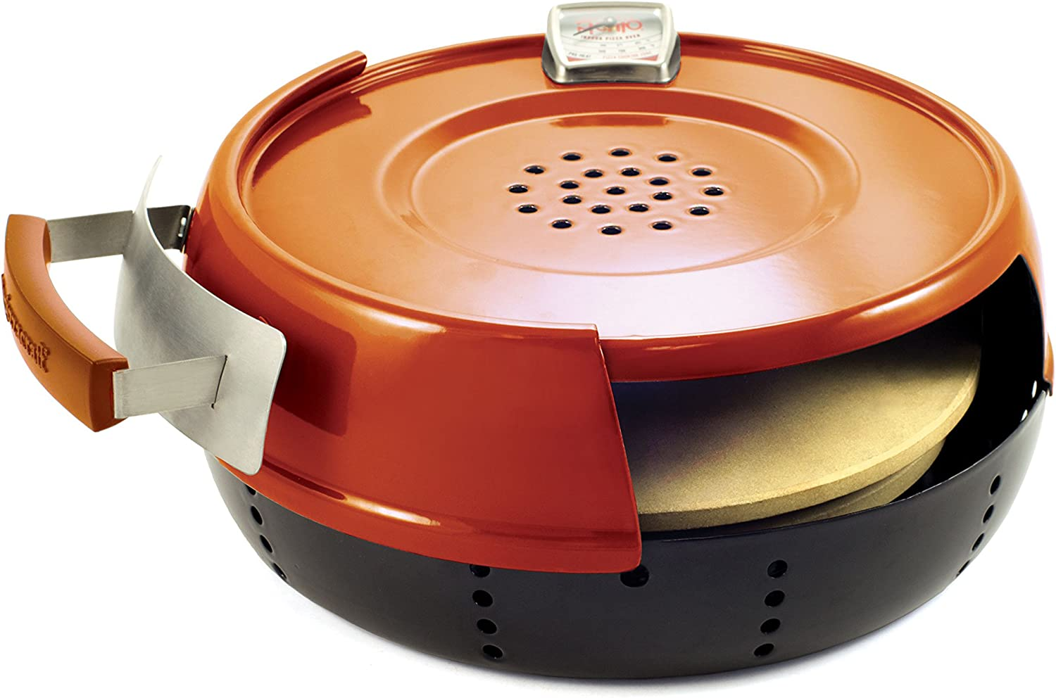 Pizzacraft All stores are sold PC0601 Pizzeria Pronto Pizza Oven Product Stovetop