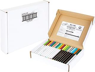 مجموعه مارک های فوق العاده Crayola ، 43 رنگ بی نظیر ، دو برابر 25 رنگ و 12 سایه معطر ، 80 عدد ، هدیه