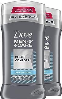 Dove Men+Care Deodorant Stick Moisturizing Deodorant For 48-Hour Protection Clean Comfort Aluminum Free Deodorant for Men ...