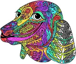 Coloring Mandala Dog