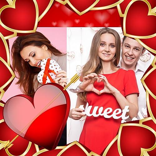 Colagem do Dia dos Namorados