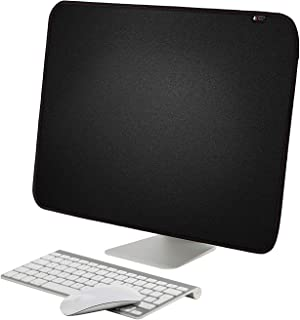 TXEsign PU Leather Protective Screen Dust Cover Sleeve with rear pocket Compatible with IMAC A1224 / A1311 / A1418 (21.5