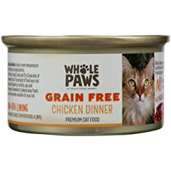 Whole Paws Grain Free Chicken Dinner, 3 oz