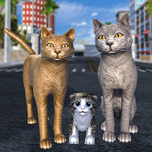 Cat Family Simulator: Stray Cute Kitty Game