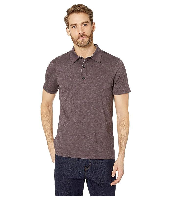 Toad&Co Tempo Short Sleeve Polo (Raisin) Men