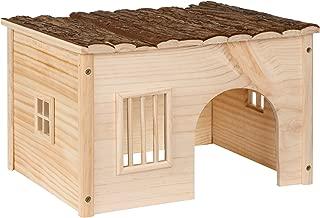 TecTake Casa casita de roedores madera roedores | -varias