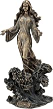 Yemaya - Mother of All Standing on Ocean Wave Statue