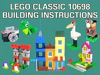 LEGO Classic 10698 Building Instructions
