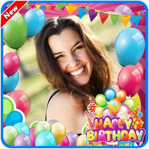 Happy Birthday Photo Frame New