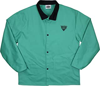 "IRONCAT 7050 2XL Irontex FR Cotton Jacket, 30"", 2XL, Green"