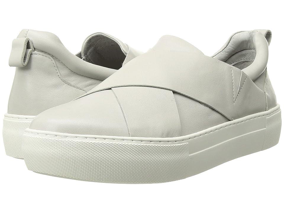 J/Slides Alec (Light Grey Leather) Women