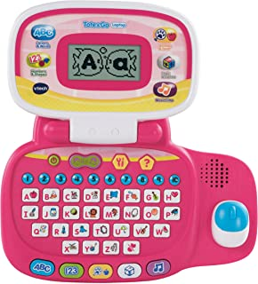 VTech Tote and Go ?#22987;?#26412;电脑,粉色