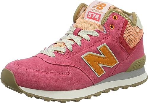 New Balance 574 Mid, Scarpe da Ginnastica Alte Donna, Rosa (Pink ...