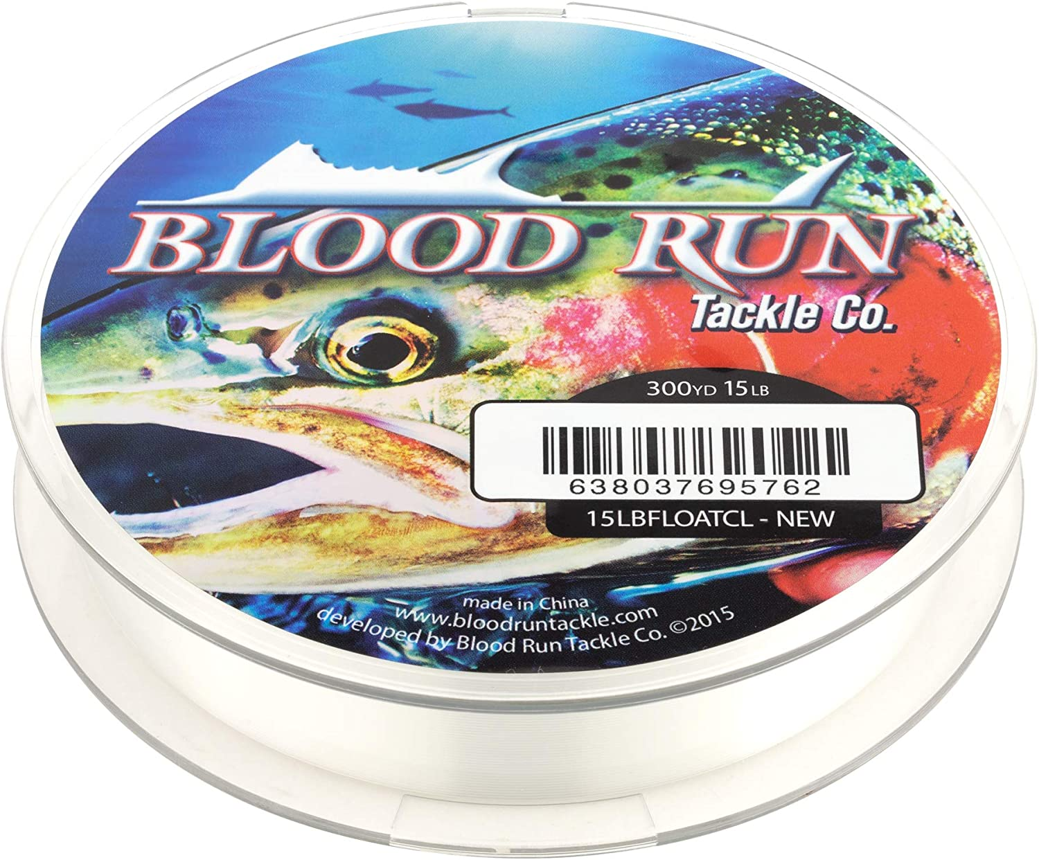 Blood Run Tackle Float Tube 2pc