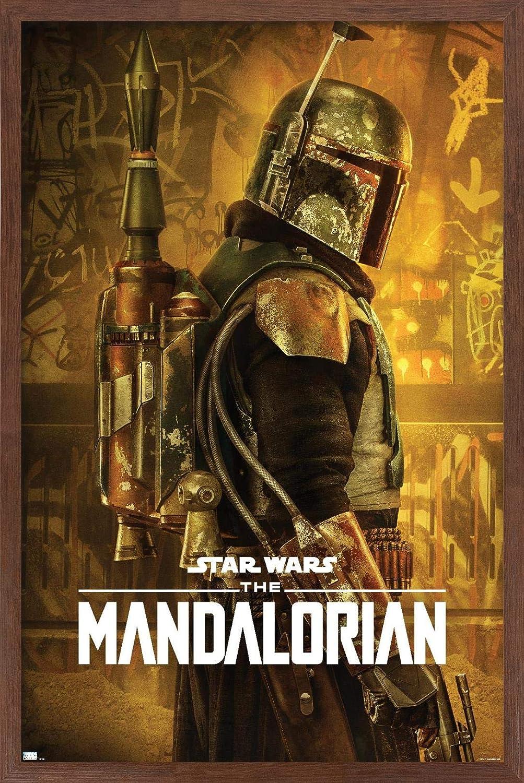 Trends International Star Wars: Gifts The Boba Ranking TOP14 Season Mandalorian - 2
