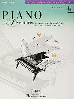 Piano Adventures Level 3a Technique & Artistry: 2nd Edition