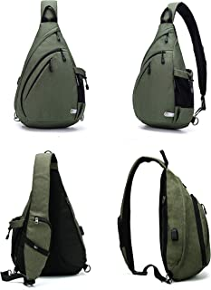 Water-Proof Sling Backpack/Crossbody Bag/Shoulder Bag for Travel, Hiking, Cycling, Camping for Women & Men