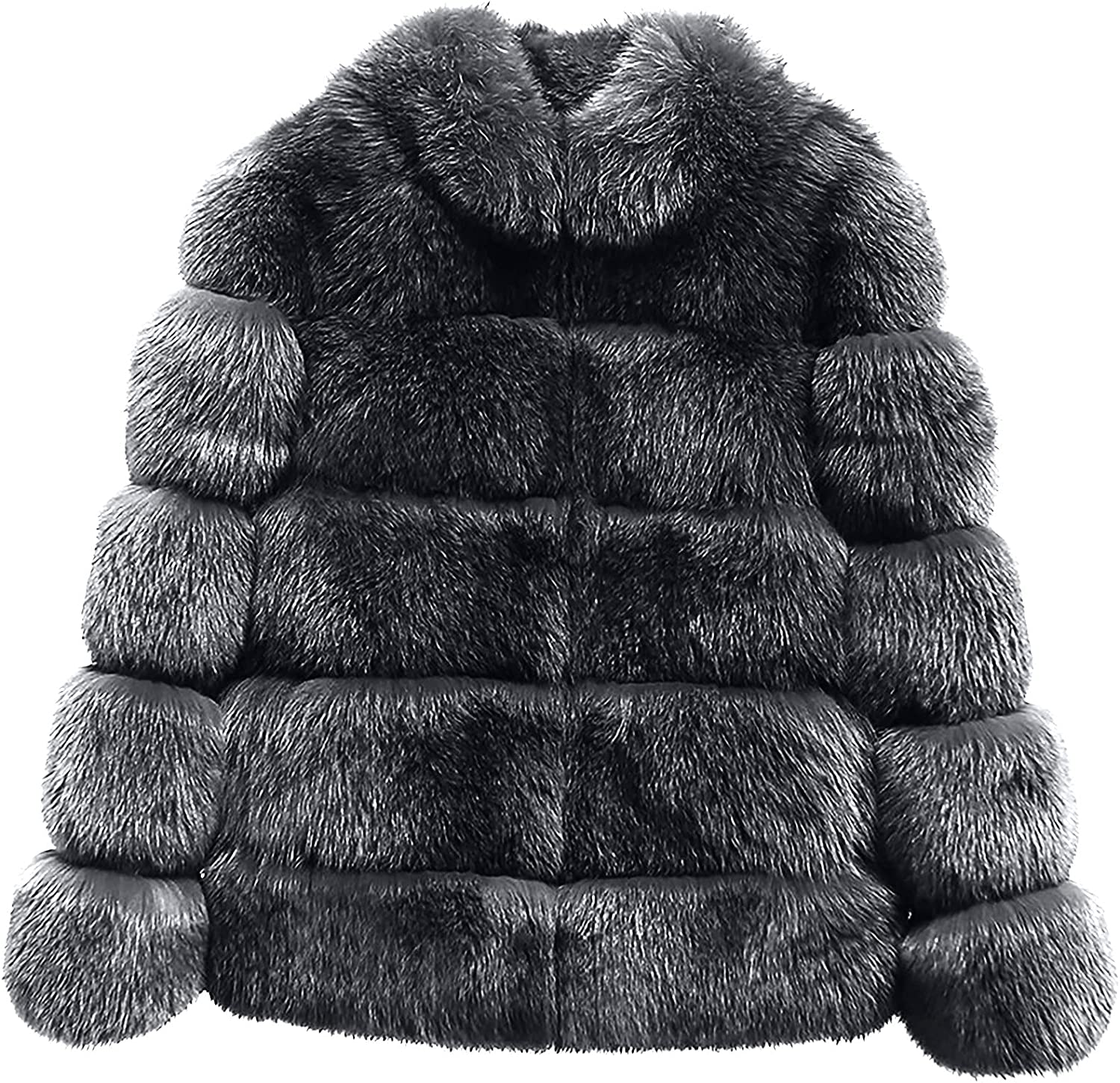 Women Winter Cardigan Plush Jacket Long-Sleeved Solid Color Warm Thick Outwear Loose Coat Lambswool Fashion