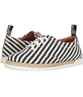 LOVE Moschino - Striped Canvas Shoe
