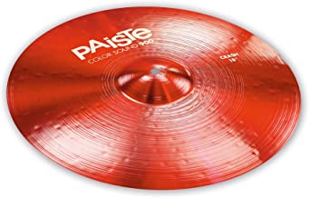Paiste 18 Inches Color Sound 900 Red Crash Cymbal