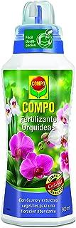 Compo Fertilizante para orquídeas, para Plantas sensibles, con Guano y extractos Vegetales, 500 ml, 23x7x6.3 cm, 1408902011