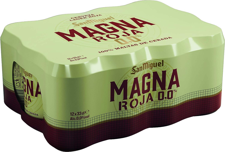 San Miguel Magna 00 Roja, 12 x 33cl