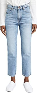 Wrangler Women's Wild West High Rise Straight Jeans