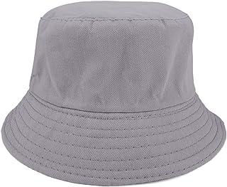 ac301ae07080ab Opromo Kids Cotton Twill Bucket Hat, Children Summer Outdoor Sun Protection  Hat