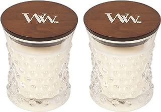 WoodWick Vintage Hobnail Candle Set - Linen
