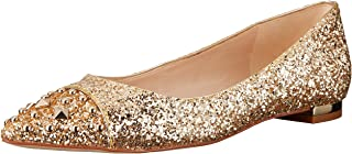 Nine West Women's Adelphine Synthetic Pointed Toe Flat