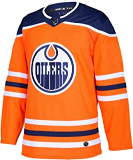 adidas Edmonton Oilers NHL Men's Climalite Authentic Team Hockey Jersey