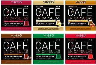 VIAGGIO ESPRESSO - 60 Cápsulas de Café Compatibles con Má