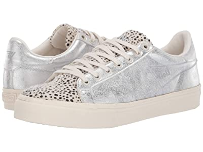 Gola Orchid II Cheetah (Off-White/Silver) Women