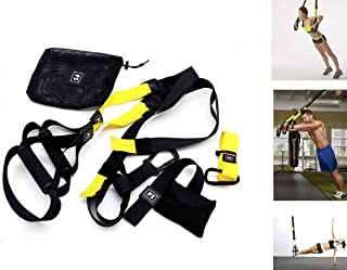 Bodyweight Fitness Resistance Trainer Kit - Pro Straps...