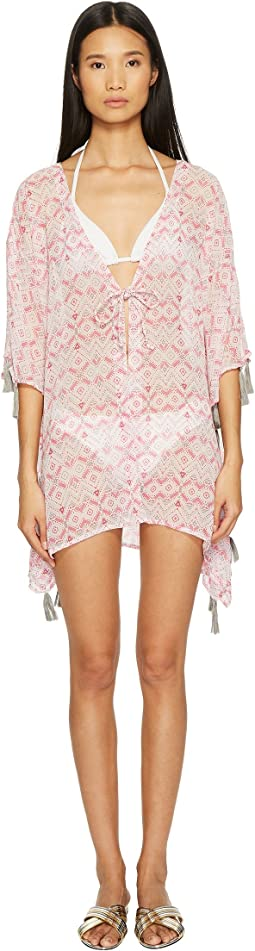 Ombre Beach Shirt Cover-Up